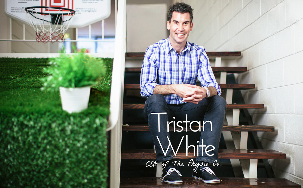 Tristan White, CEO of The Physio Co.