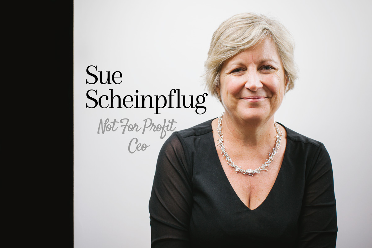 Sue Scheinpflug, Not for Profit CEO
